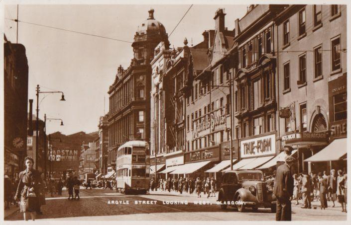 Argyle Street Coronation Tram, Glasgow