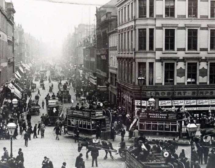 Argyle Street Glasgow History