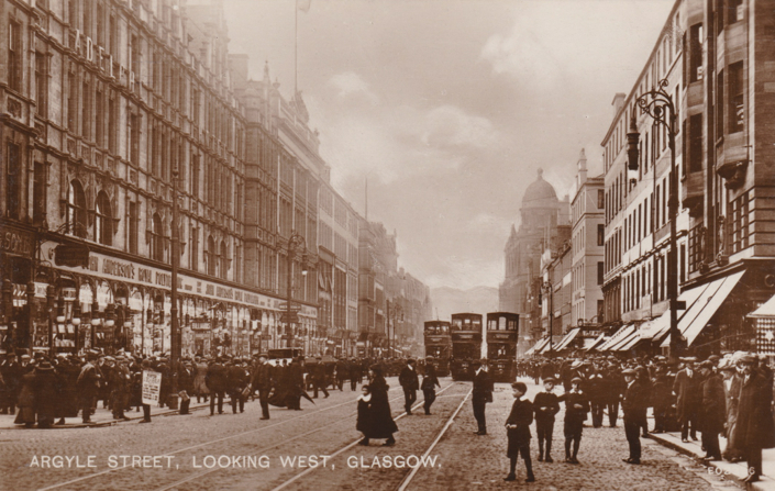 Argyle Street, Looking West, Glasgow