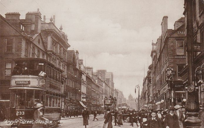 Argyle Street looking East, Glasgow
