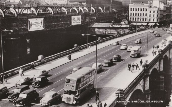Jamaica Bridge, Daimler Bus, Glasgow