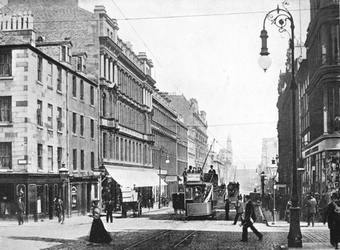 Reid & Todd Precursor Buildings, Sauchiehall Street, Glasgow