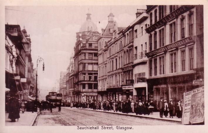 Sauchiehall Street Glasgow Glasgow History
