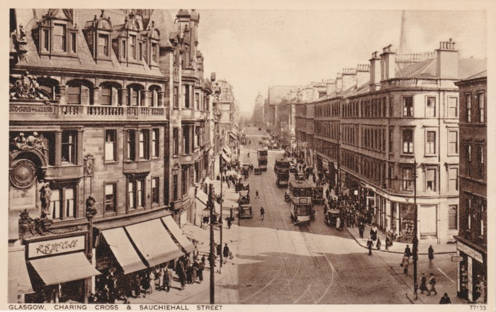 Sauchiehall Street, Willow Tea Rooms, Glasgow 1