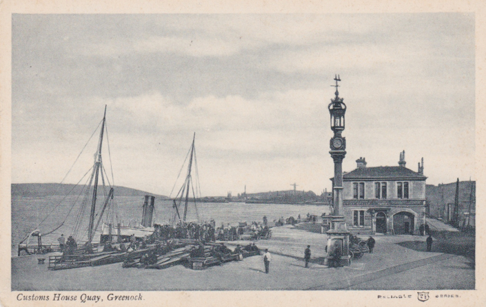 Customs House Quay, Greenock 1