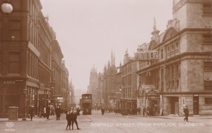 Renfield Street, Pavilion Theatre, Glasgow 1