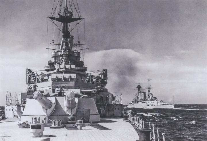 HMS Hood and HMS Repulse