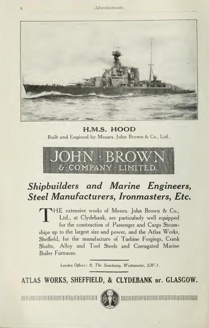 John Brown advertisement