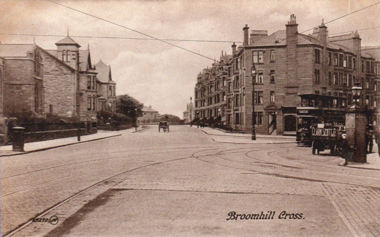 Broomhill Cross, Glasgow