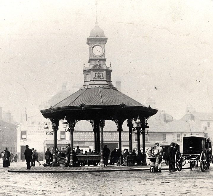 Early Bridgeton Cross, Glasgow