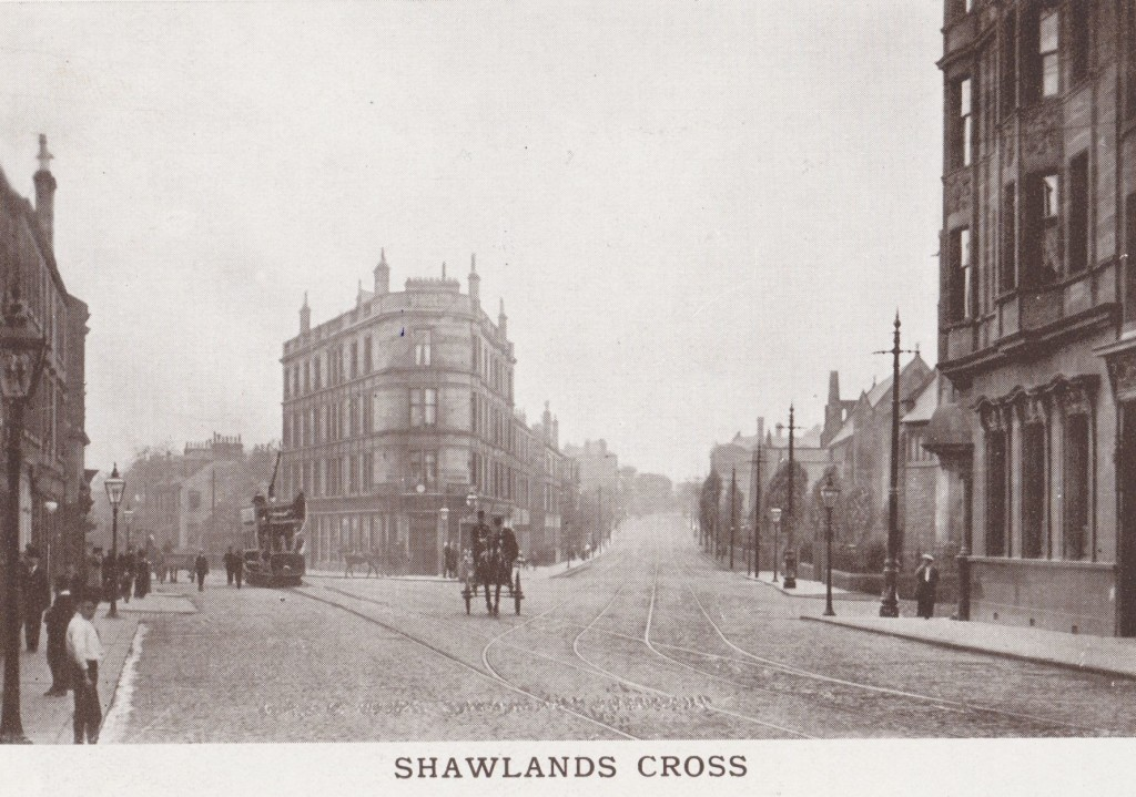 Early morning at Shawlands Cross, Glasgow