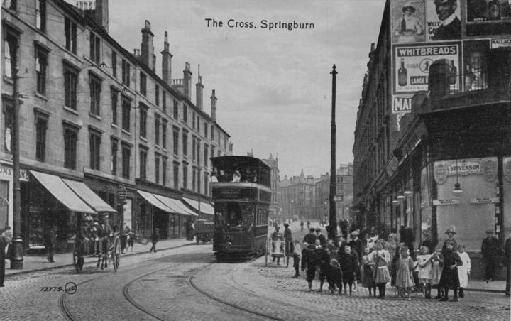 Springburn Cross, Glasgow