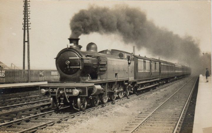Express Boat Train to Wemyss Bay, 1922